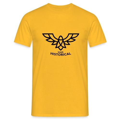 Text & Logo - Men's T-Shirt