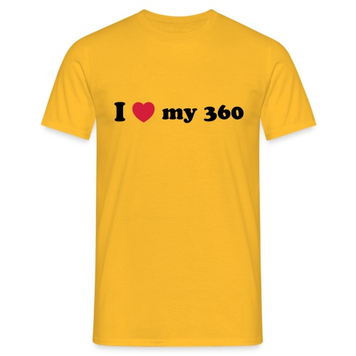 I love my 360 - Men's T-Shirt