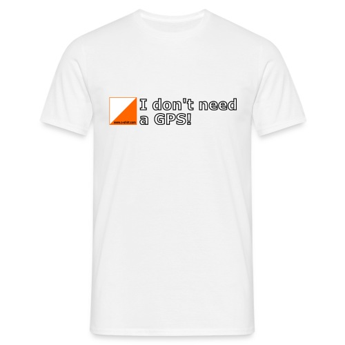 nogps - Männer T-Shirt