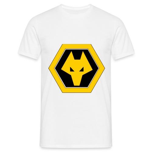wolveslogobig - Men's T-Shirt