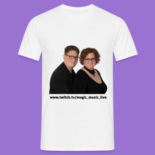 Klara und Bernhard Portrait - Männer T-Shirt