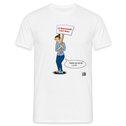 T shirt nucléaire version t shirt png - T-shirt Homme