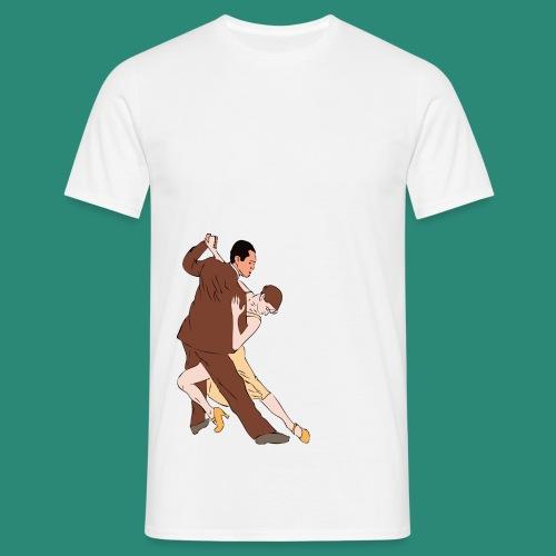 tango argentino - Männer T-Shirt