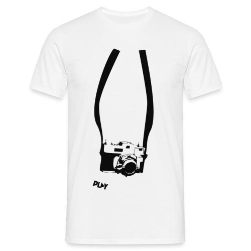 cámara retro - Camiseta hombre