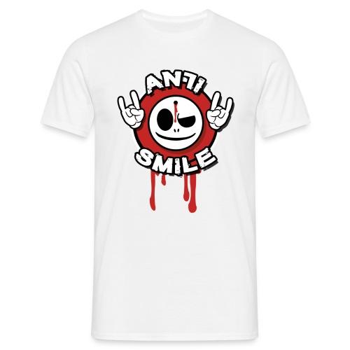 AntiSmile - BigFront - Männer T-Shirt