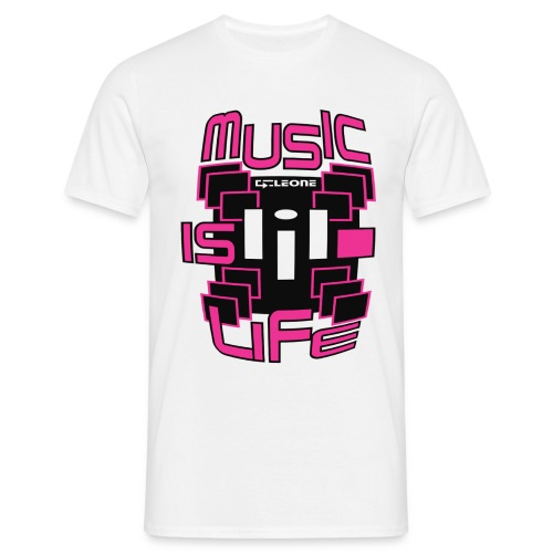 2017 MUSIC IS LIFE - T-shirt Homme