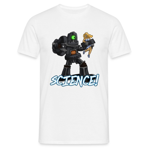 Science Robot - Men's T-Shirt