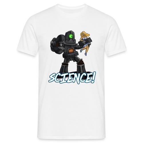 Science Robot - Men's T-Shirt