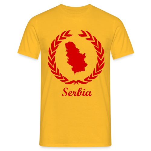 Connect ExYu Serbia Red Editon - Männer T-Shirt