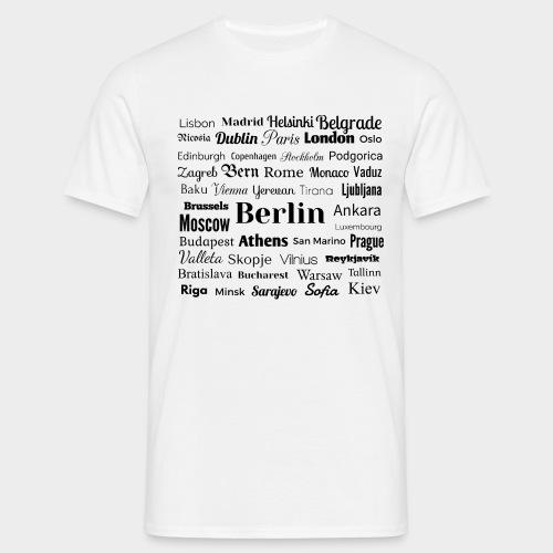 European capitals - Men's T-Shirt