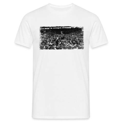 Old School Football Fans - T-shirt Homme