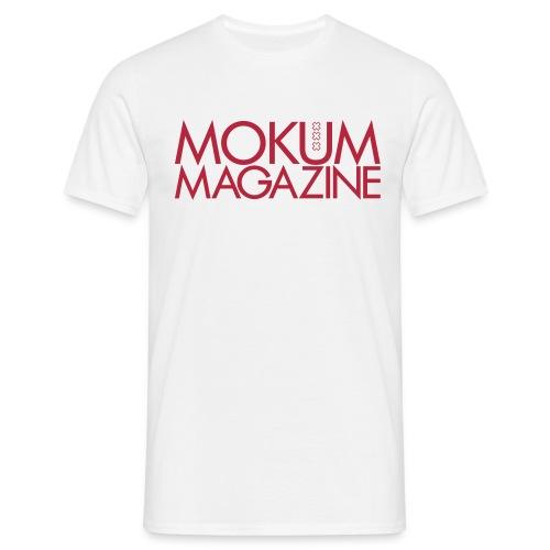 Mokum Magazine logo - Mannen T-shirt
