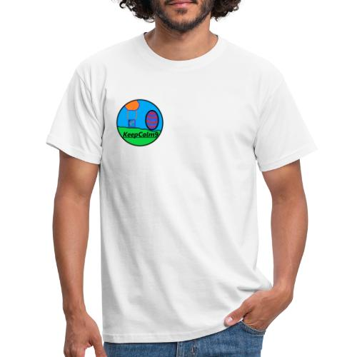KeepCalm9-Merch Oster-Design - Männer T-Shirt