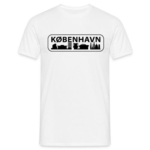 2010 cph byskilt large - Herre-T-shirt