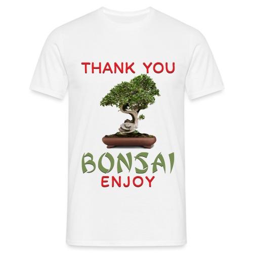 Dziękuję Ci Bonsai - Koszulka męska