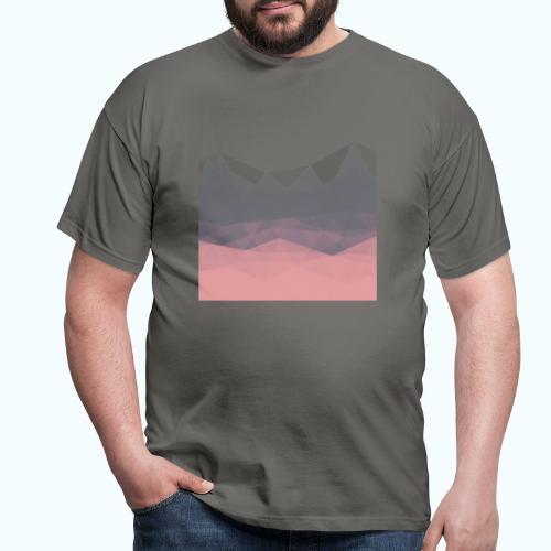Modern Abstract Triangles Minimal - Men's T-Shirt