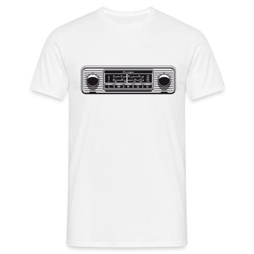 Autoradio Klassiker - Männer T-Shirt