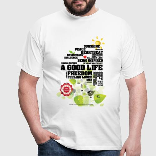 GOODLIFE png - Herre-T-shirt