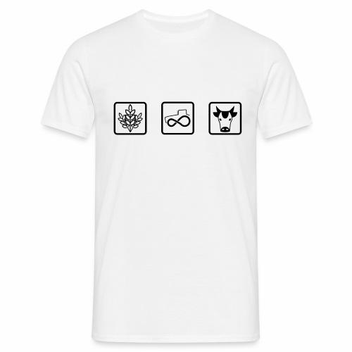 Farmer's icons - Maglietta da uomo