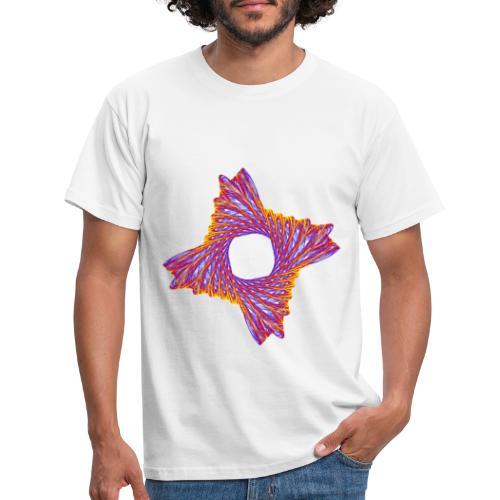 rotierendes Lebensfeuer 12162bry - Männer T-Shirt