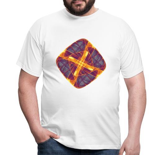 Chakra Mandala Mantra OM Chaos Star Circle 12255i - Men's T-Shirt