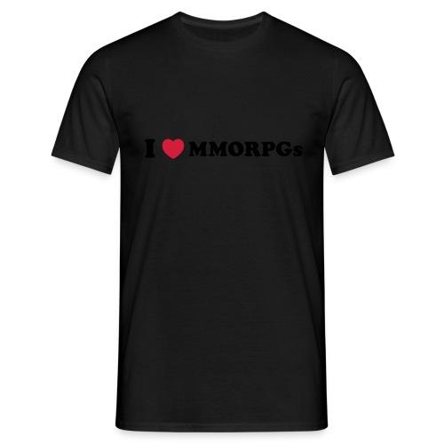 I Love MMORPG s - Men's T-Shirt