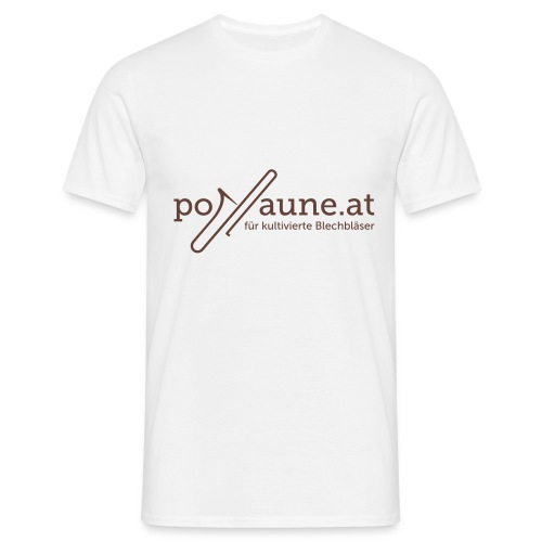 www posaune at logo 2012 - Männer T-Shirt