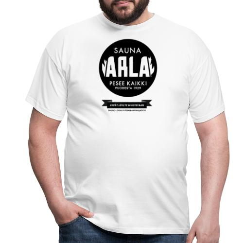 Sauna Arla - Valkoinen - Miesten t-paita