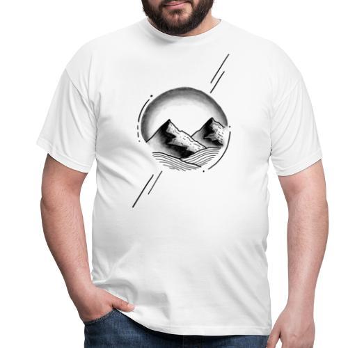 circleMountain - Männer T-Shirt