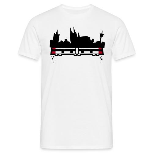 koeln 2011 v2 whiteshirt4 - Männer T-Shirt