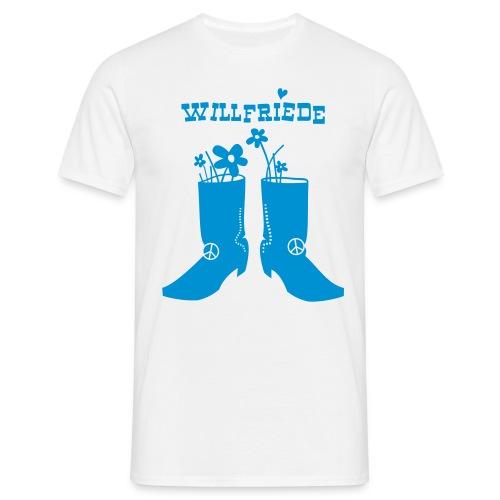 Willfriede Boots - Männer T-Shirt