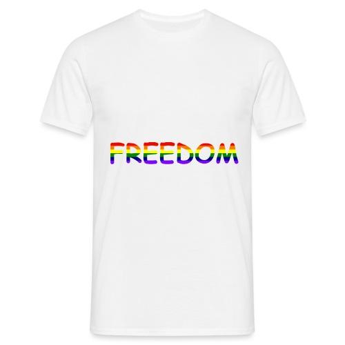 Freedom #1 - Männer T-Shirt