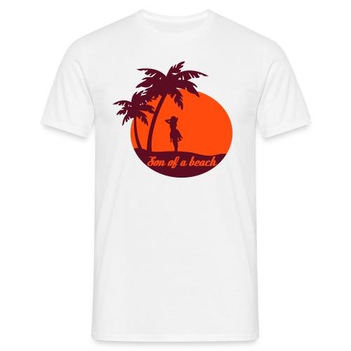 20110519 ytb shirt son rotorange pfade - Männer T-Shirt