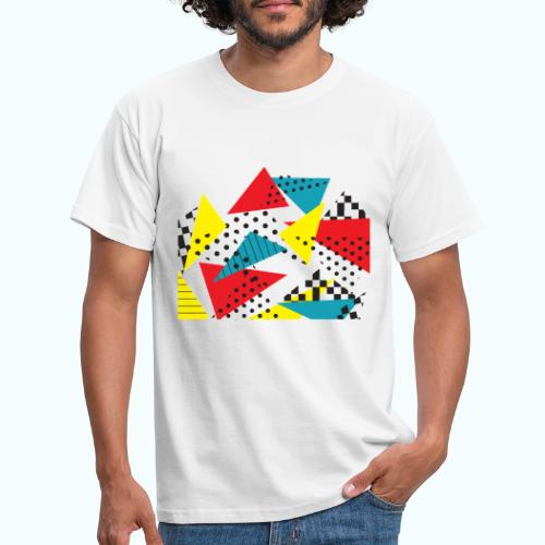 Abstract vintage collage - Men's T-Shirt