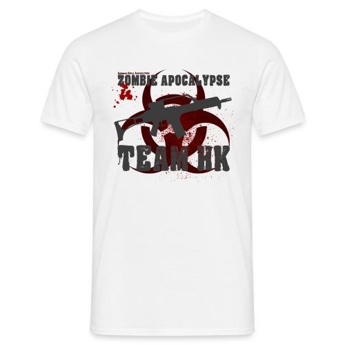 Zombie Apocalypse Team H&K - Männer T-Shirt