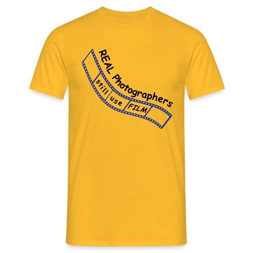 Real Photographer(Film) - Men's T-Shirt