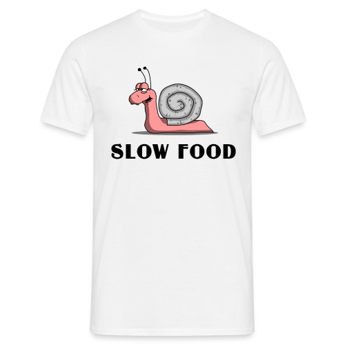 T-Shirt Damen slow food - Männer T-Shirt