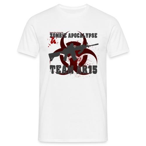 Zombie Apocalypse Team AR15 - Männer T-Shirt
