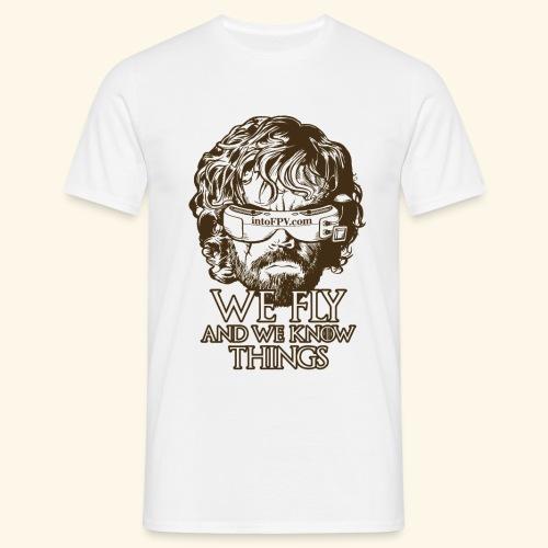 IntoFPV - GOT T-Shirt (Light Color) - Men's T-Shirt