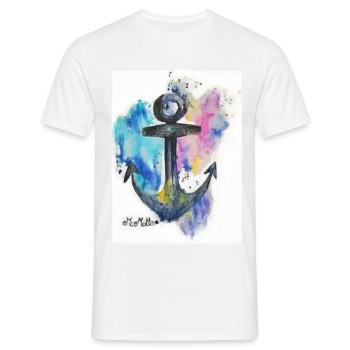 McMotte Ankershirt First Style - Männer T-Shirt