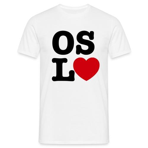 Oslove - OSL♥ - T-skjorte for menn