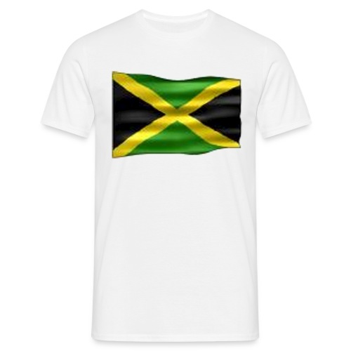Jamaica - rintamerkki 56mm - Miesten t-paita
