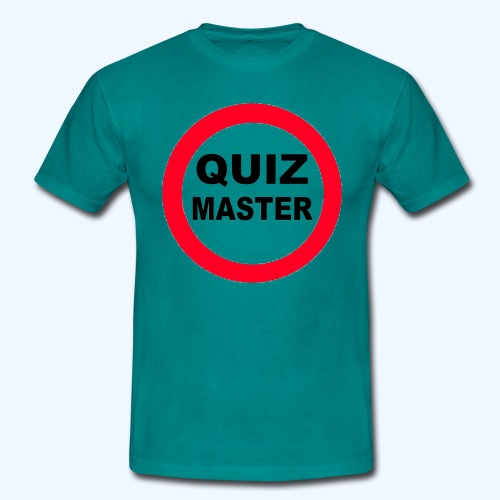 Quiz Master Stop Sign - Men's T-Shirt