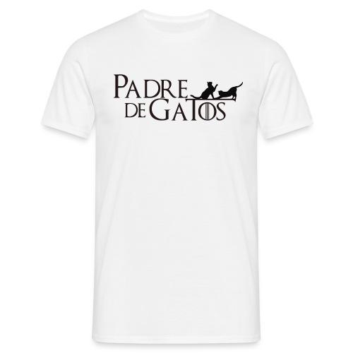 Padre de gatos - Camiseta hombre