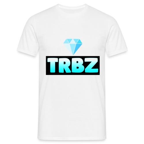 TRBZ big logo with diamond - T-shirt herr