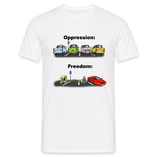 Ostalgi - Herre-T-shirt