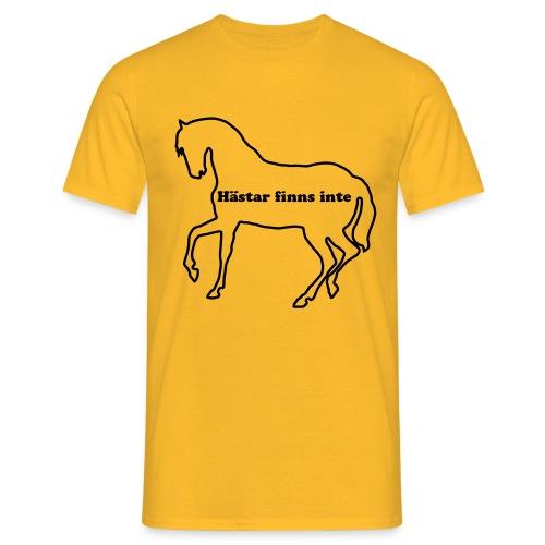 Hästar finns inte - T-shirt herr