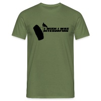 I Wish I Was Kitesurfing - Black - Men's T-Shirt - military green