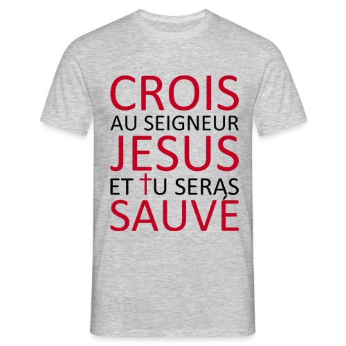 CroisJésusSauve - T-shirt Homme