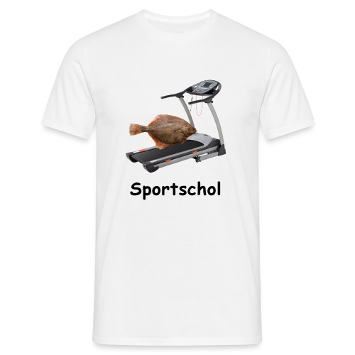 Sportschol - Mannen T-shirt